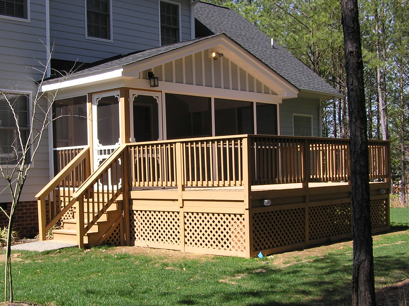 Additions for Screen porch construction plans